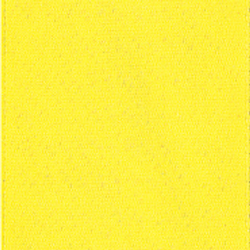 Lemon Single Faced Satin Ribbon