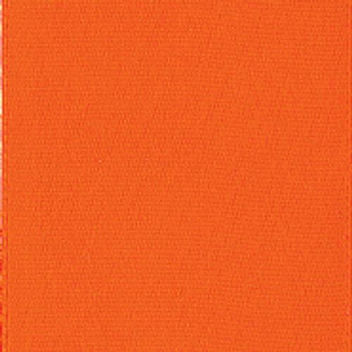 Torrid Orange Single Faced Satin Ribbon