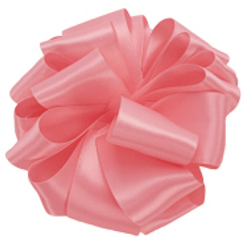 Pink Sand Double Faced Satin Ribbon