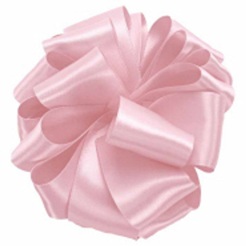 Rosewater Offray Wholesale Double faced satin ribbon.