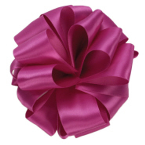 Wild Berry Double Faced Satin Ribbon