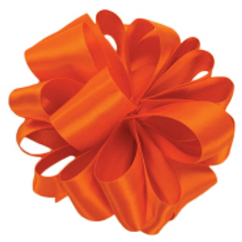 Torrid Orange Double Faced Satin Ribbon