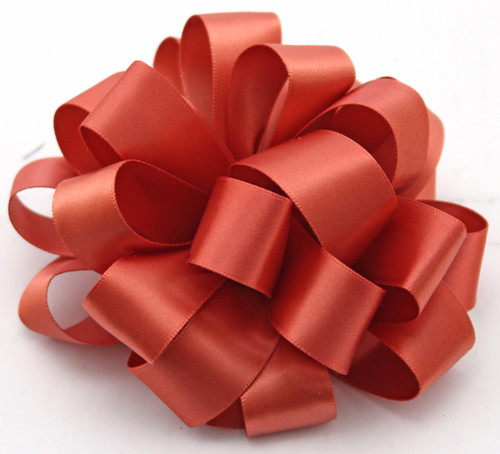 Marsala Double Faced Satin Ribbon