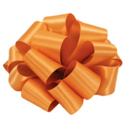 Pumpkin Double Faced Satin Ribbon