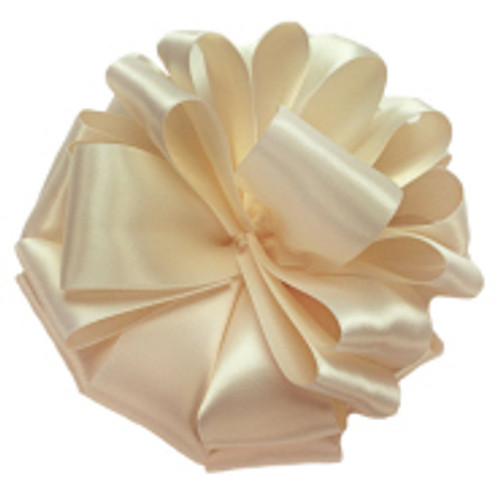 Chardonnay Double Faced Satin Ribbon