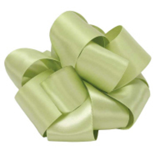 Lime Juice Double Faced Satin Ribbon