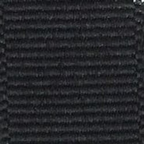 Black Solid Grosgrain Ribbon