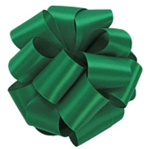 Emerald Double Faced Satin Ribbon