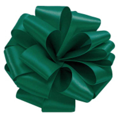 Forest Green Double Faced Satin Ribbon