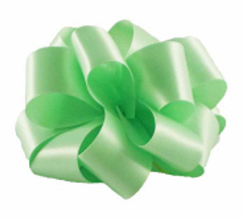Mint Double Faced Satin Ribbon