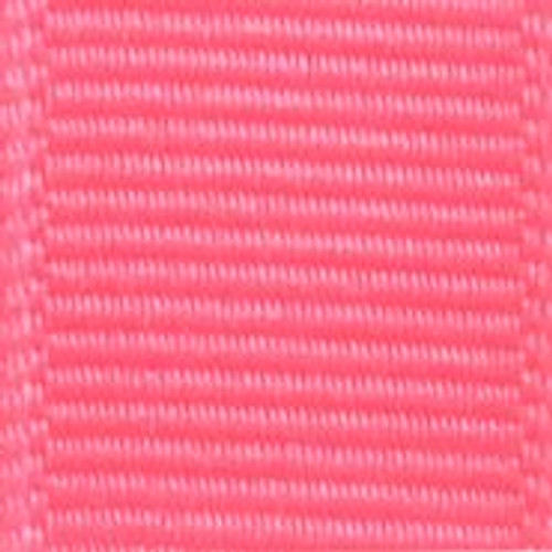 Vibrant Pink Solid Grosgrain Ribbon