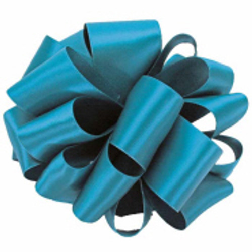 Deep Teal Double Faced Satin Ribbon