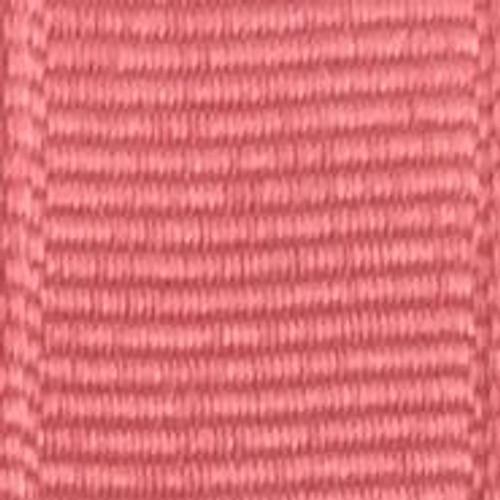 Coral Rose Solid Grosgrain Ribbon