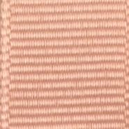 Coral Ice Solid Grosgrain Ribbon