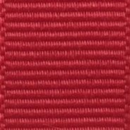 Hot Red Solid Grosgrain Ribbon