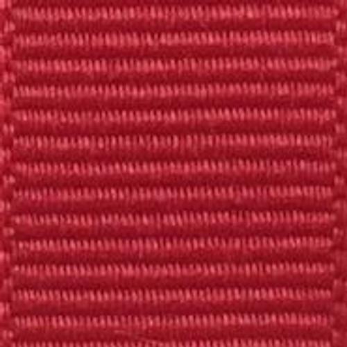 Hot Red Solid Grosgrain Ribbon