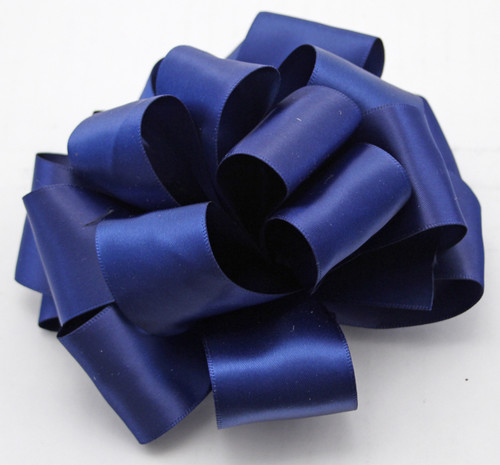 Light Navy Double Faced Satin Ribbon