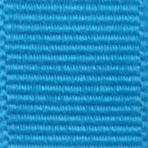 Island Blue Solid Grosgrain Ribbon