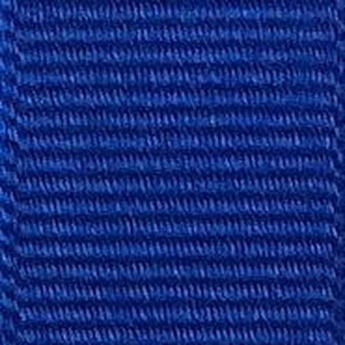 Electric Blue Solid Grosgrain Ribbon