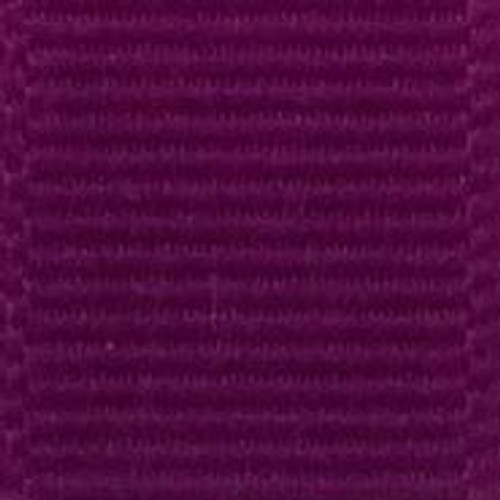 Royal Orchid Solid Grosgrain Ribbon