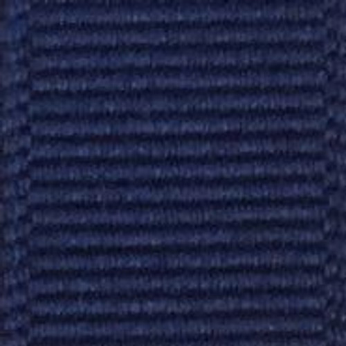 Light Navy Solid Grosgrain Ribbon