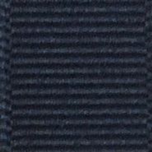 Navy Solid Grosgrain Ribbon