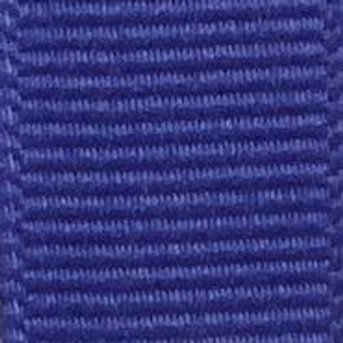 Iris Blue Solid Grosgrain Ribbon