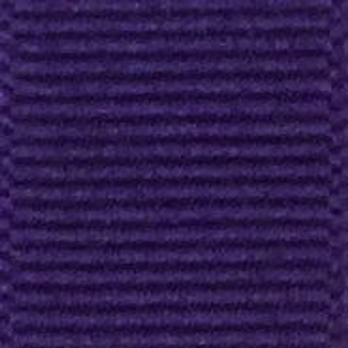 Regal Purple Solid Grosgrain Ribbon