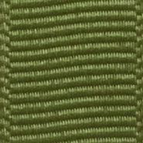 Jungle Green Solid Grosgrain Ribbon