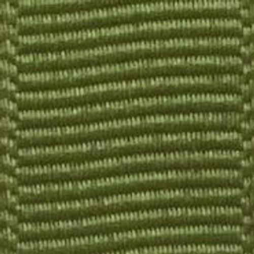 Jungle Green Solid Grosgrain Ribbon
