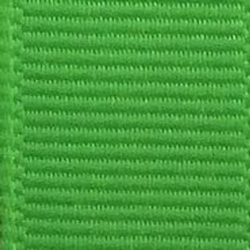 Neon Green Solid Grosgrain Ribbon