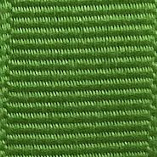 Apple Green Solid Grosgrain Ribbon