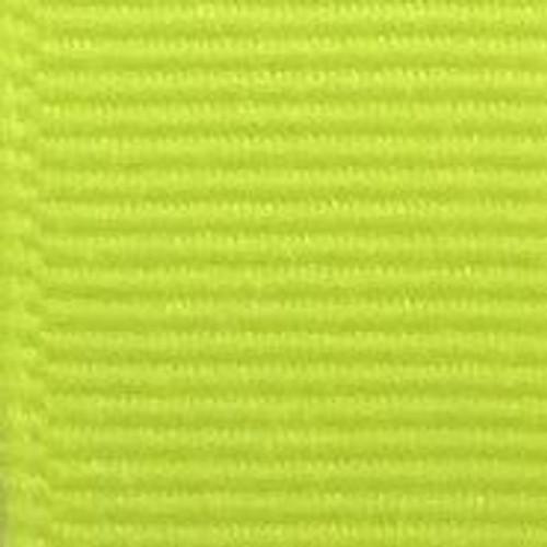 Neon Yellow Solid Grosgrain Ribbon