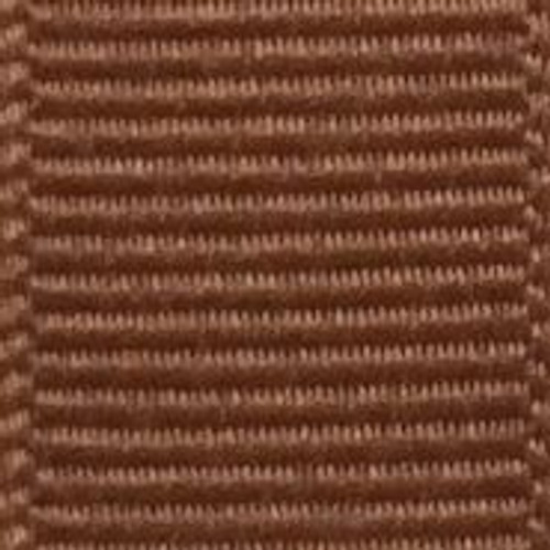 Coffee Solid Grosgrain Ribbon