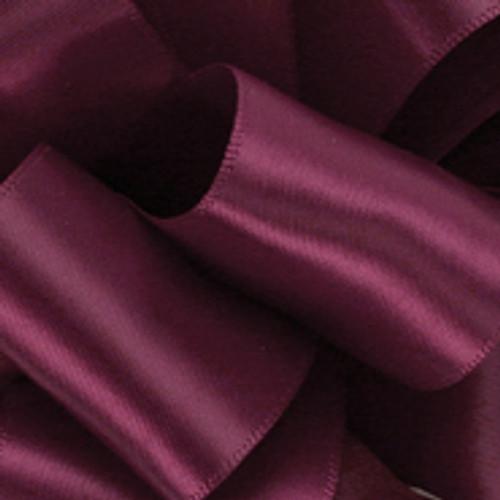 1/8 Wine Dainty Satin ribbon