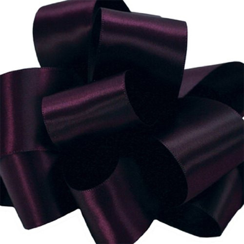 1/8 Egg Plant Dainty Satin ribbon