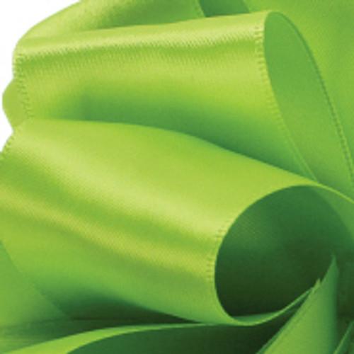 1/8 Chartreuse Dainty Satin ribbon