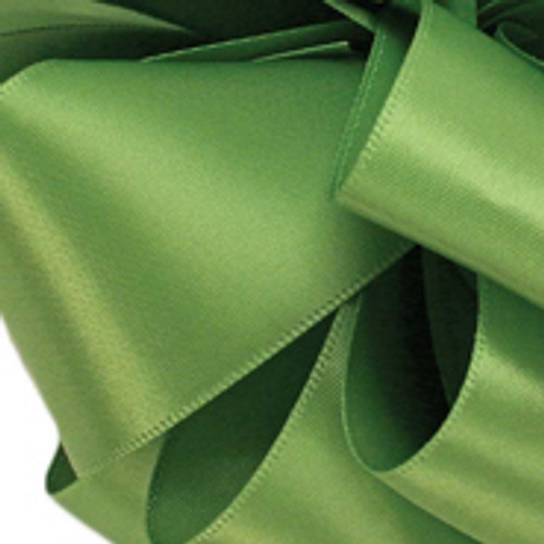 1/8 Kiwi Dainty Satin ribbon