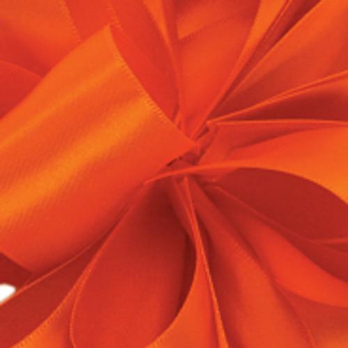 1/8 Torrid Orange Dainty Satin ribbon