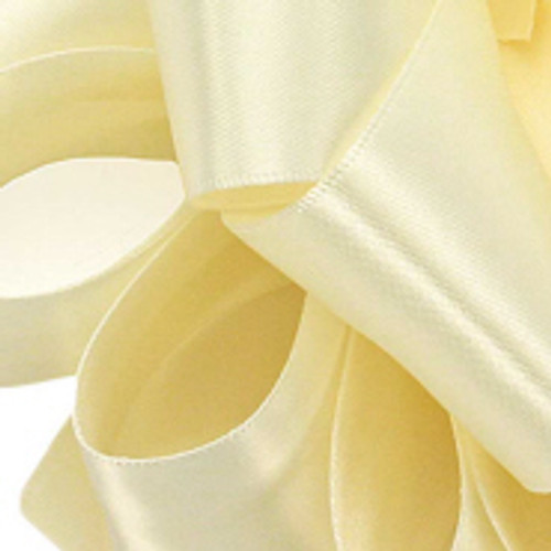 1/8 Ivory Dainty Double Faced Satin ribbon