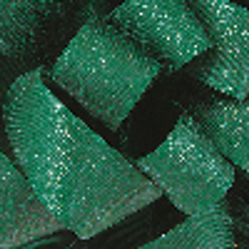 7/8 Emerald Glitter Grosgrain available in 25 yd rolls.
