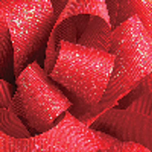 7/8 Red Glitter Grosgrain available in 25 yd rolls.