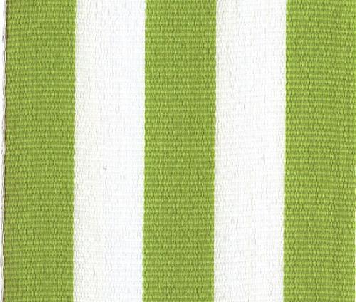 Clean green carnival striped grosgrain ribbon.