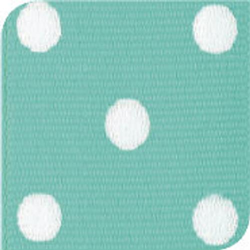 Diamond & White Grosgrain Polka Dots