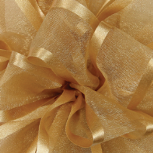 Golden Ale Pirouette Sheer and Satin Ribbon