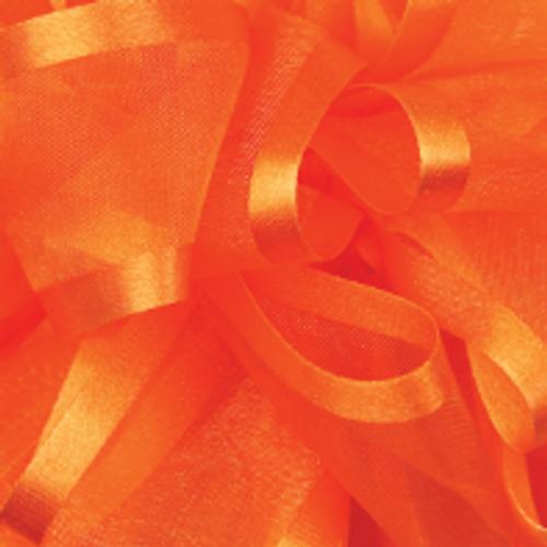 Torrid Orange Pirouette Sheer and Satin Ribbon
