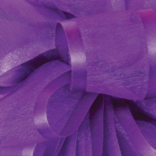Purple Pirouette Sheer and Satin Ribbon