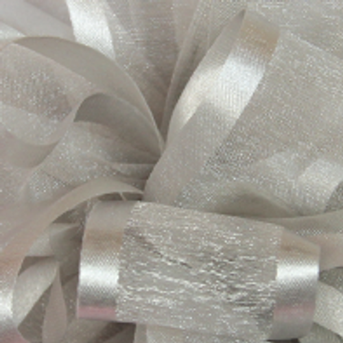 Silver Sheer Ribbon.