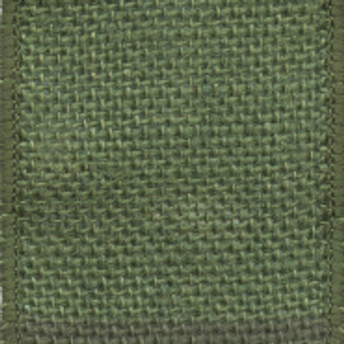 Moss Green Wire Solid Burlap Ribbon