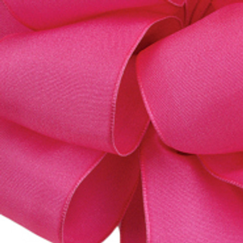 Pretty Pink Wired Woven Ribbon